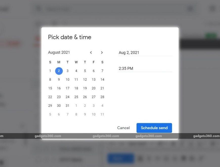 Ako naplánovať odosielanie e-mailu v Gmaile prostredníctvom prehliadača