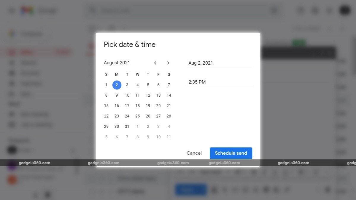 gmail planovanie odosielanie